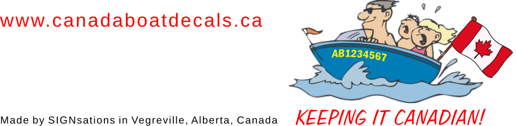 CANADA BOAT DECALS Ca Is CanadaBoatDecalscom Stick On Boat - Decals for boats canada
